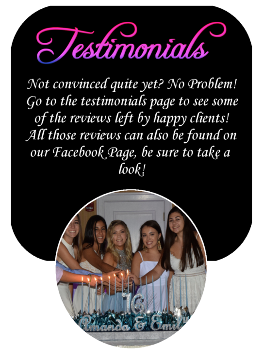 Simply Entertainment - Testimonials